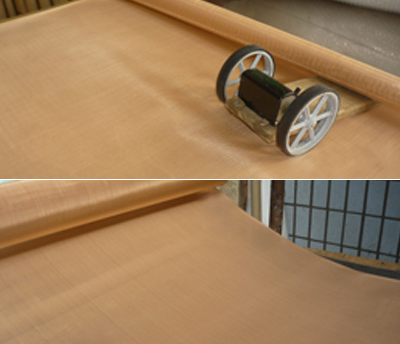 Image of phosphor bronze wire mesh