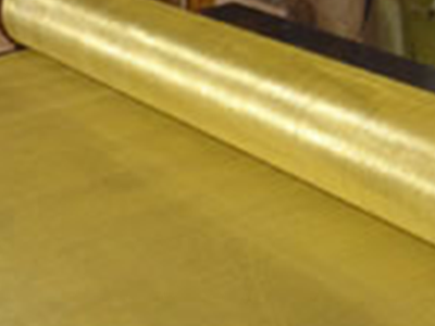 Image of brass wire mesh
