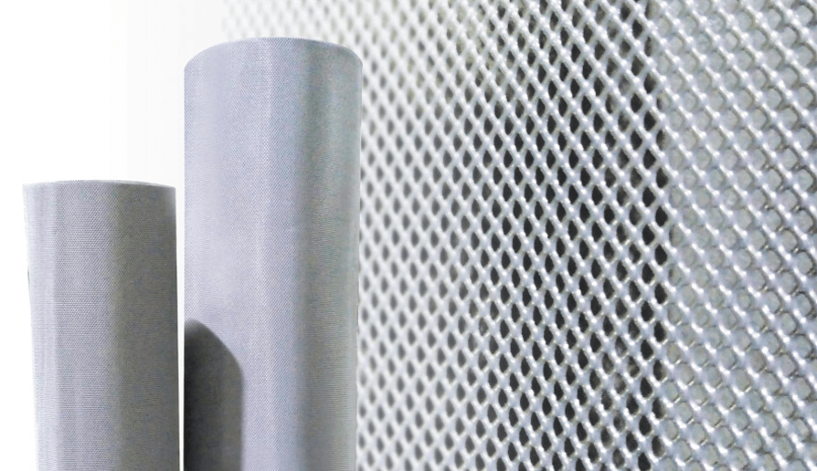Aluminum SS Finish Insect Screen